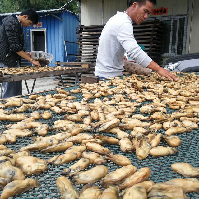 广州地道的生煎金蚝,在家也能做,蚝鲜香浓郁