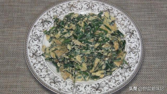 韭菜营养好吃的做法,配上几个鸡蛋,简单快捷,家人都说好吃